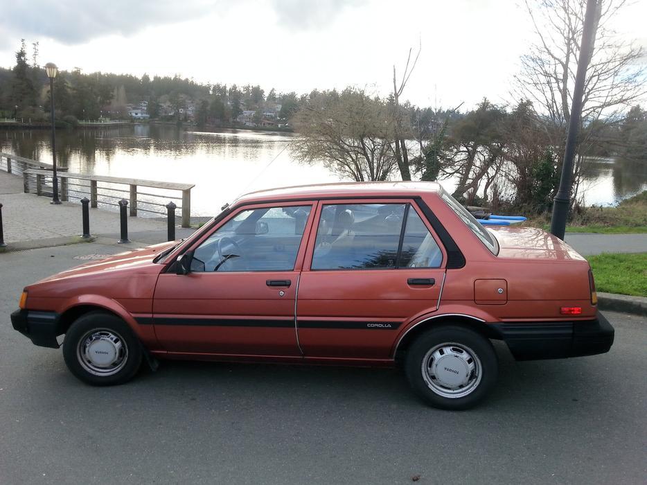 1984 Toyota Corolla Victoria City Victoria