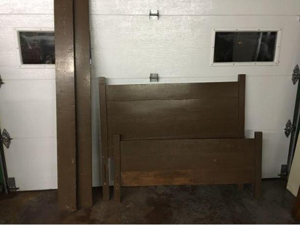 "3/4 (48""wide) Solid Wood Bed Frame"