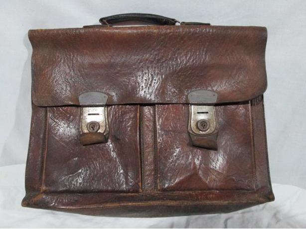 ** 50's/60's? VINTAGE Men's Briefcase/attache bag/case ** $50
