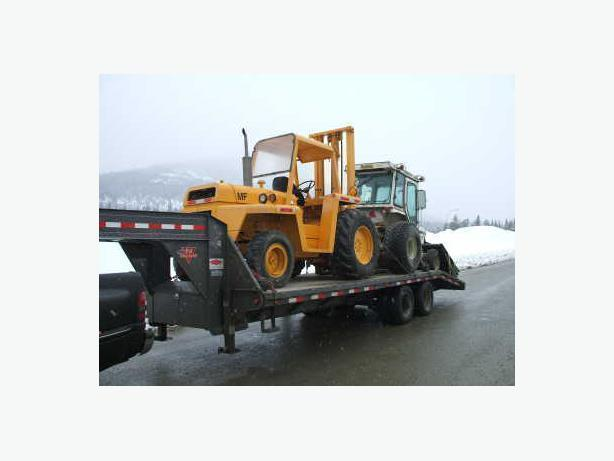 Farm & Construction Equipment Hauling