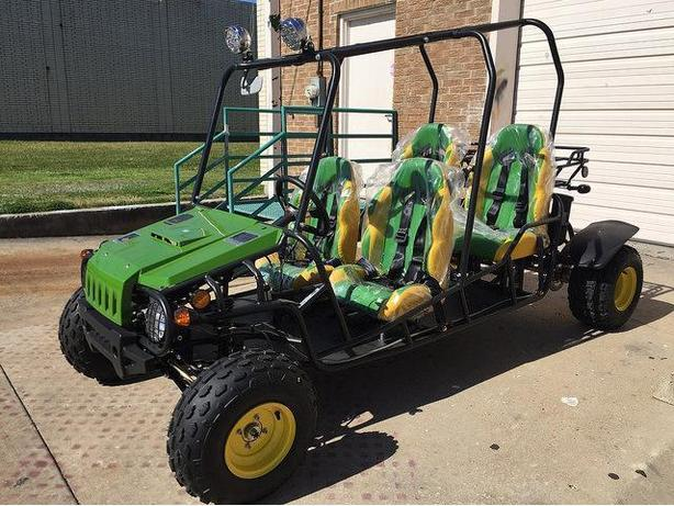 ATVKIDS/TEEN 4 SEATER DUNEBUGGY/GO CART/(JOHN DEERE GREEN)