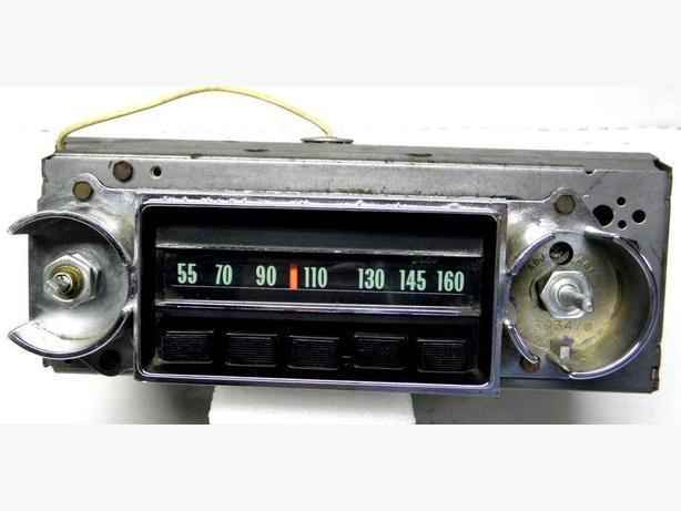 1968 68 Chevy II Nova SS Pontiac Acadian AM Delco Radio 7302451