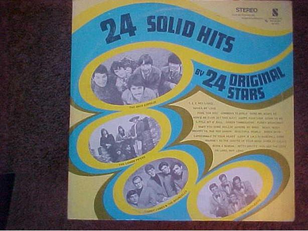 24 SOLID HITS VINYL LP