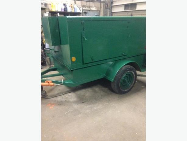 GENERATOR  DIESEL TRAILER 3 PH 12KW  120/208