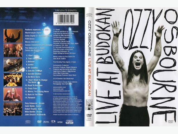 OZZY OSBOURNE: LIVE AT BUDOKAN - sealed