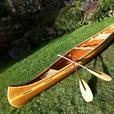 new cedar strip canoe