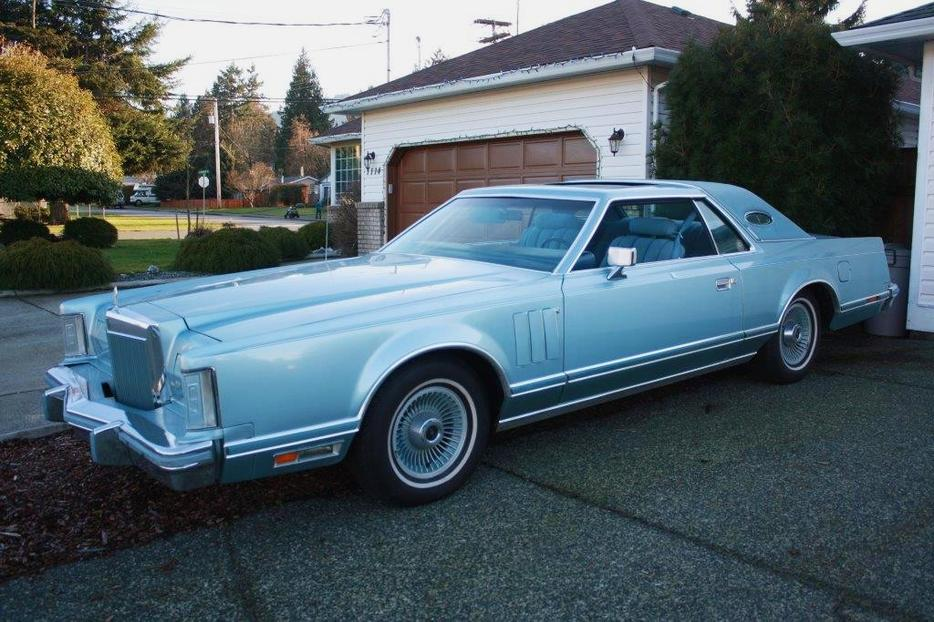 1978 Lincoln Continental Mark V Diamond Jubilee Edition Outside Metro Vancouver  Vancouver