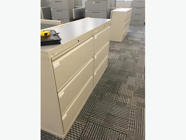 3 and 4 Drawer lateral filing cabinets