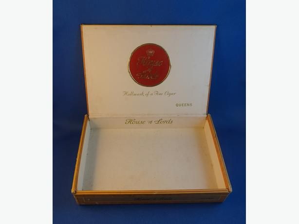 4U2C VINTAGE CIGAR BOX HOUSE OF LORDS