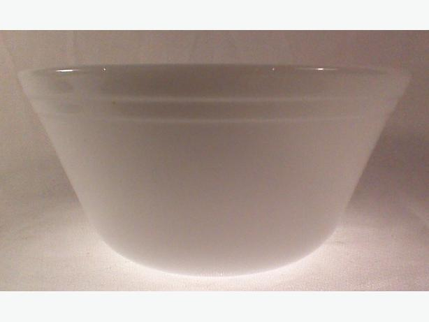 Federal Glass mixing bowl 1 quart
