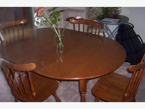 Vilas Dining Table And 4 Chairs