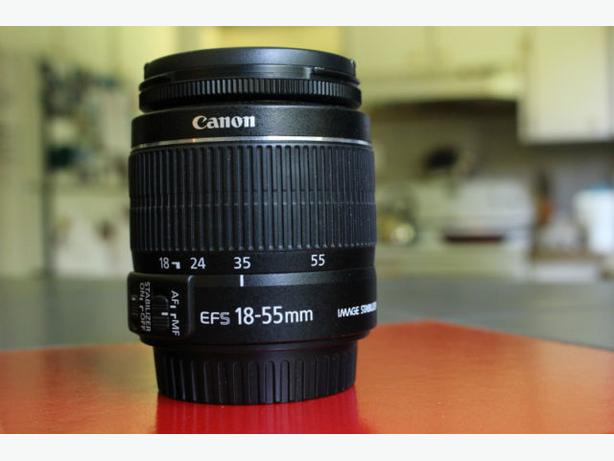 Canon EF-S 18-55mm f/3.5-5.6 IS II (Like new)