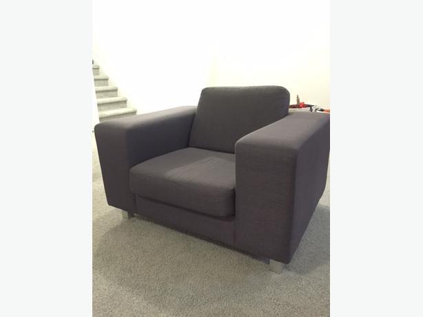 Fabric EQ3 Arm Chair