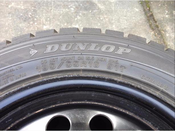 Dunlop Winter Maxx Snow Tires