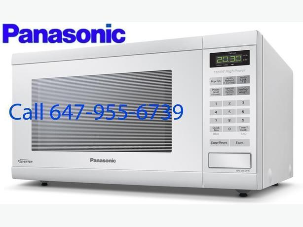 Panasonic NNST651W Countertop Microwave - 1.2 Cu. Ft. - White