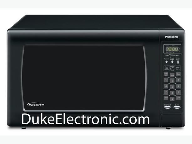 Panasonic NNSN968B Countertop Microwave - 2.2 Cu. Ft. - Black