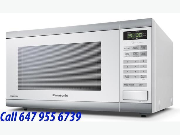 Panasonic Countertop Microwave - 1.2 Cu. Ft. - White NNST661W