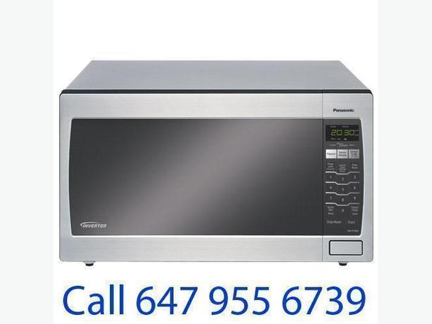 Panasonic 1.6 Cu. Ft. Microwave (NNST762S) - Stainless Steel