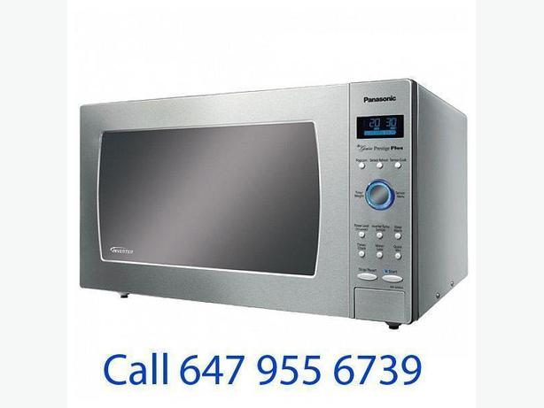 Panasonic 2.2 Cu. Ft. Microwave (NNSD980S) - Stainless Steel