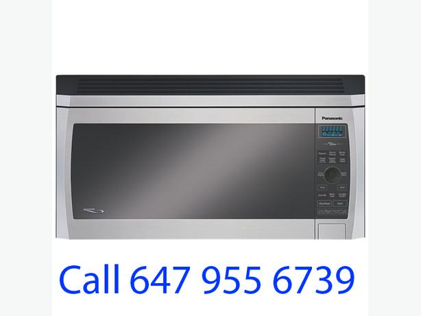 Stainless Panasonic Over The Range Microwave, 2.0Cu.FT NNSD277S