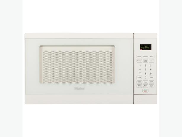 New Haier 0.7 Cu. Ft. Microwave (HMC722BEWW) - White