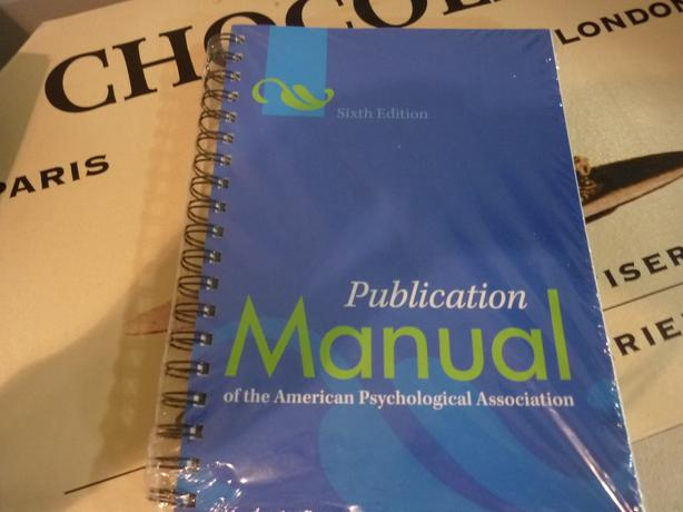 6th edition of the apa manual koni polycode co