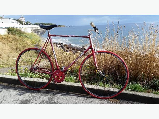WANTED: (Stolen Bike} Red Falcon