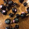 Vintage Venetian Wedding Cake Beads necklace