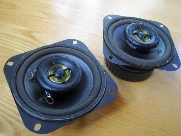 Coax Car Speakers ~ 4-inch