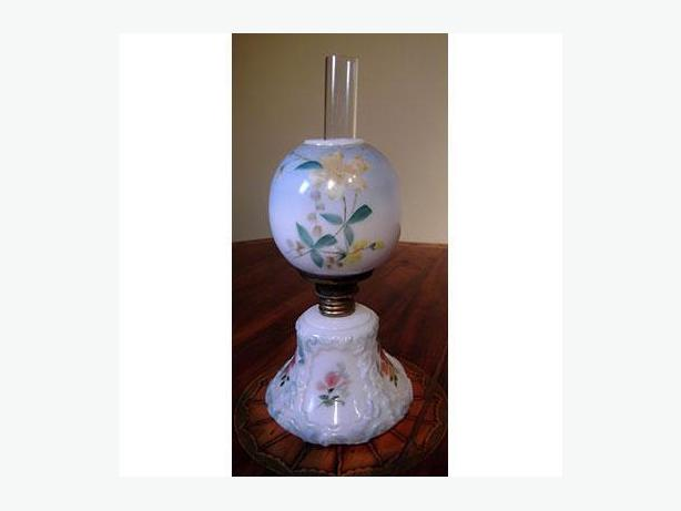 Miniature Gone with the Wind Lamp