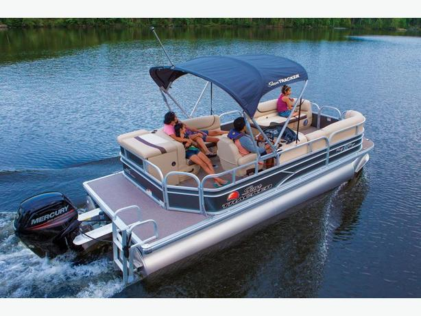 NEW 2016 Sun Tracker Party Barge 20 DLX