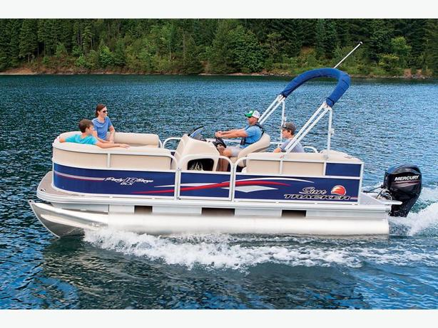 NEW 2016 Sun Tracker Party Barge 18 DLX