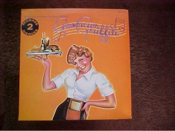 AMERICAN GRAFFITI DOUBLE VINYL LP