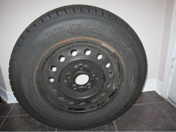 Toyo G-02 Observe Tires 185/70/14 - excellent condition