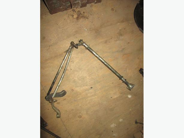 Yamaha Bravo 250 steering post tie rod ball joints steering relay outside arm