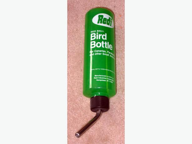 Like New Redi Brand Red Ball Bird Bottle