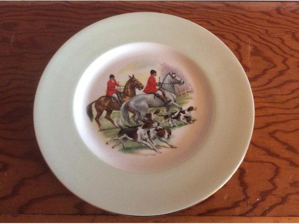 Royal Grafton Fine Bone China Fox hunt pattern