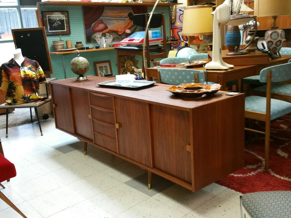 Danish Teak Queen Bed With Floating Side Tables Other Vintage Furniture Outside Victoria Victoria