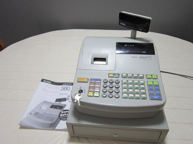 royal alpha 580 cash register qualicum nanaimo rh usednanaimo com manual caja registradora royal alpha 580 royal alpha 580 cash register instruction manual