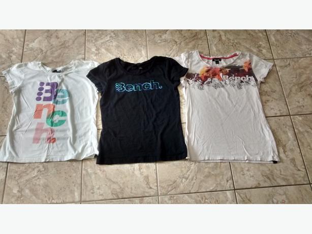 Ladies BENCH T-Shirts - Size Large