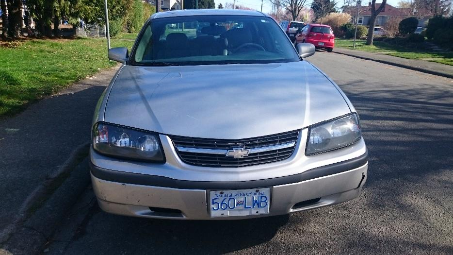2005 Chevrolet Impala Reduced Price Victoria City Victoria
