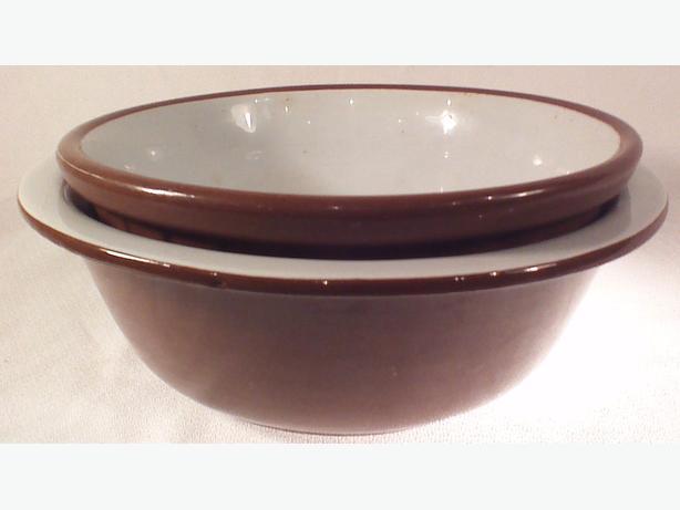 Weller redware bowls