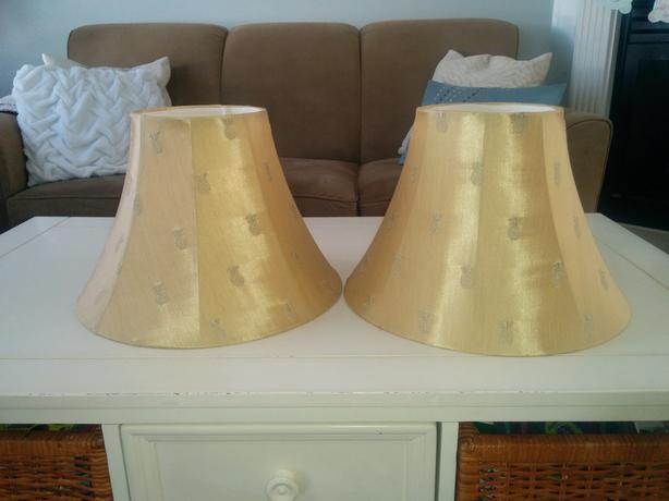 Amazing 2 Bell Shaped Lamp Shades From Home Outfitters