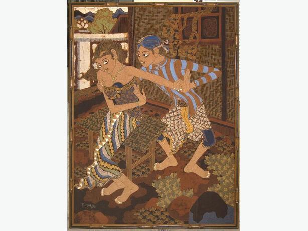 Javanese Batik Paintings
