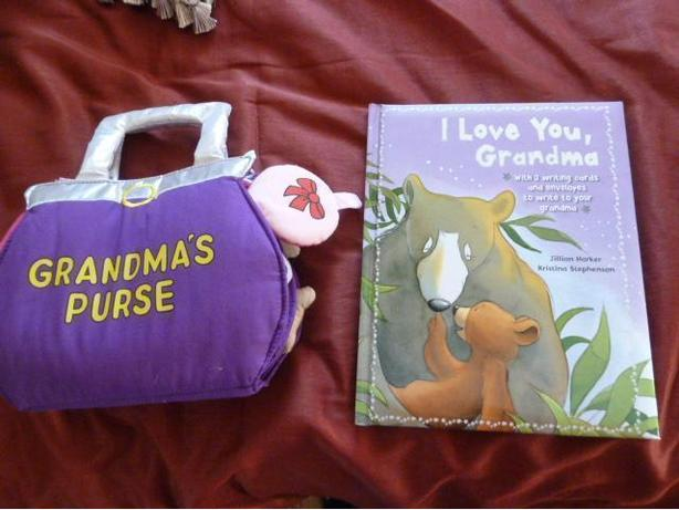 Two Grandma Books for Children
