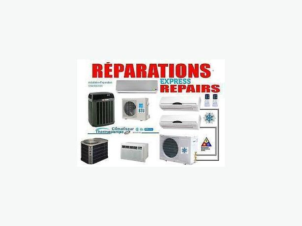 Reparation thermopompe heat pump 514 9963181 air for Climatiseur mural haier
