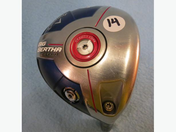 Callaway Big Bertha ALPHA 9 Degree Adjustable RIGHT Driver