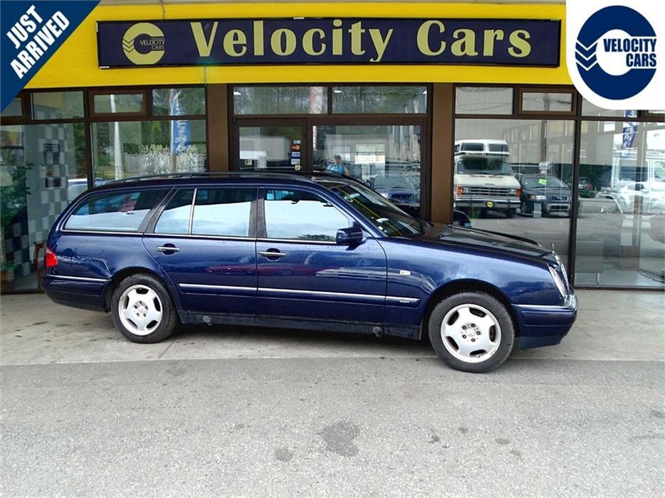 Mercedes Benz Houston North >> 1998 Mercedes-Benz E320 E-class WAGON 7-SEAT AWD Sunroof 77 KMs Outside Okanagan, Okanagan