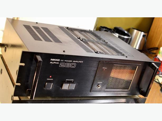 CLASSIC NIKKO 230 POWER AMP AMPLIFIER * LIKE NAD * PRO QUALITY