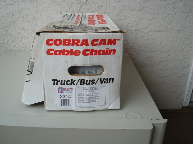 COBRA TRUCK CABLE CHAINS